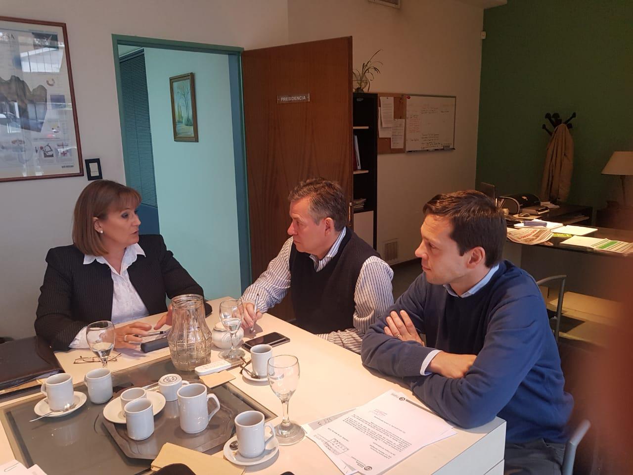 Reunión con el presidente del EPRE en Cipolletti