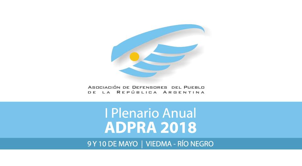I Plenario Anual ADPRA
