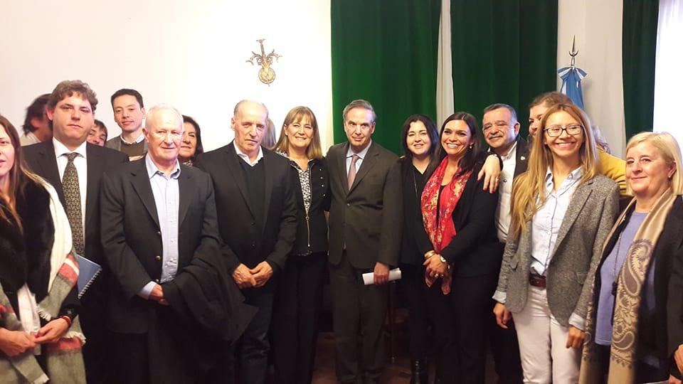 Reunión de la Comisión Directiva ampliada de ADPRA y posterior encuentro con senadores y diputados de la Nación