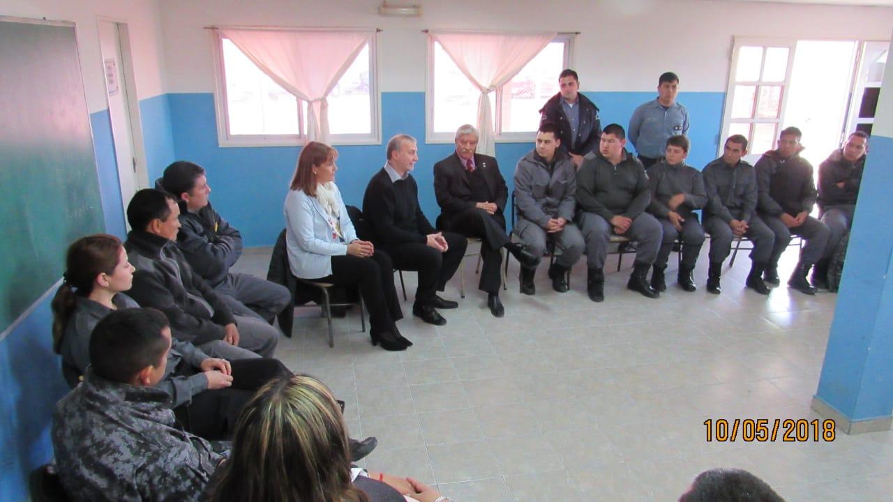 Capacitación para el personal del servicio penitenciario