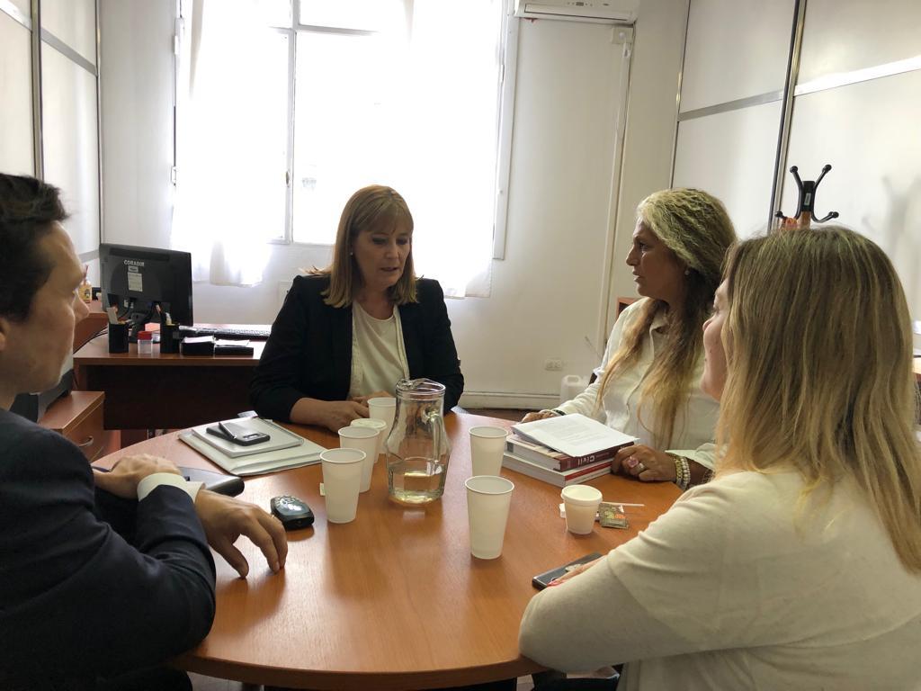 Reunión entre la Defensoría del Pueblo de Río Negro y el Órgano de Revisión de Salud Mental