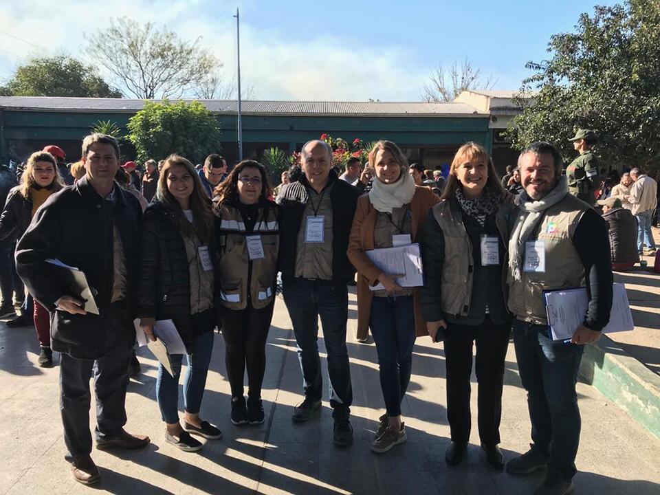 Santagati participó como veedora electoral durante las elecciones en Tucumán