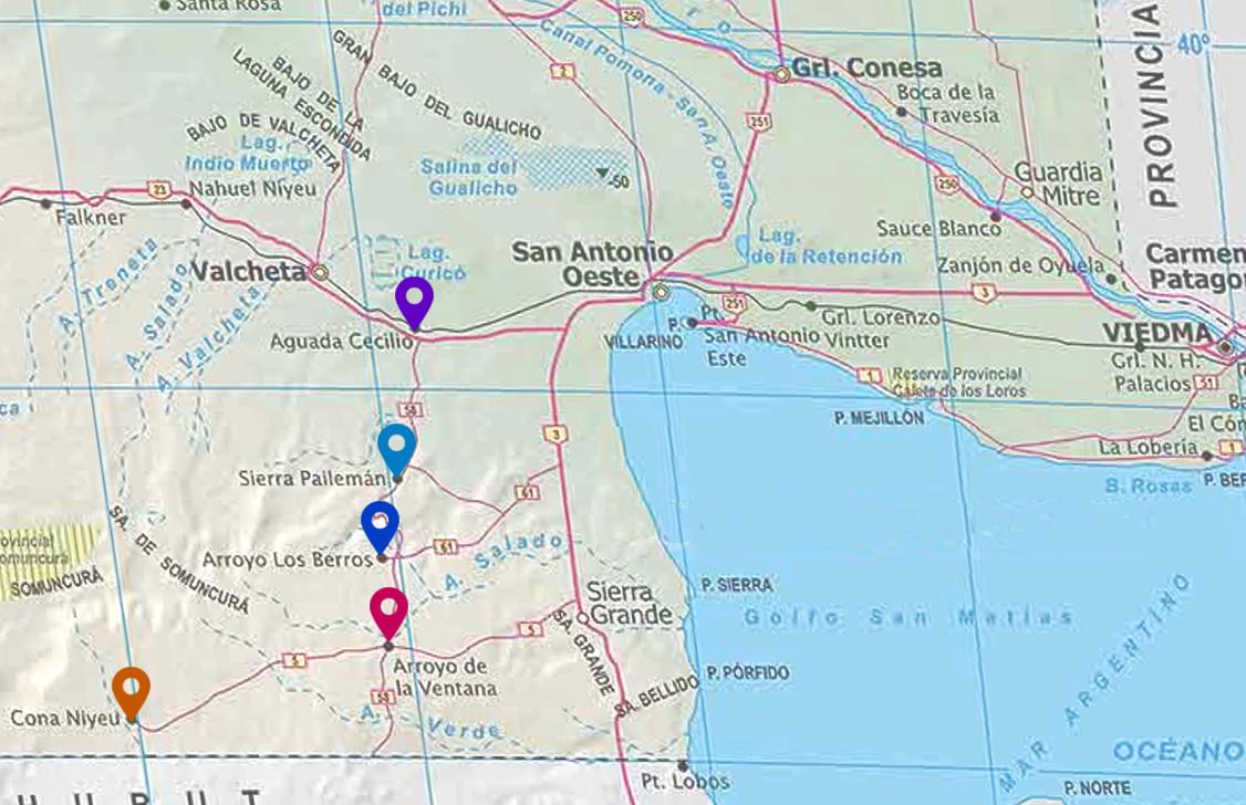 Hoy y mañana, atención de consultas y reclamos en  Cona Niyeu, Arroyo Ventana, Arroyo Los Berros, Sierra Pailemán y Aguada Cecilio.
