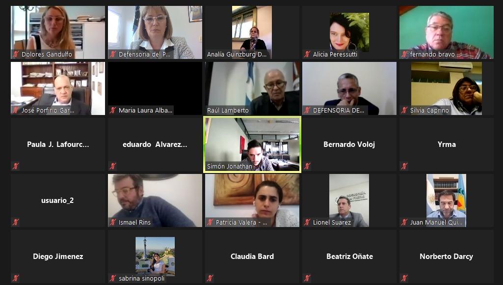 Santagati participó de la reunión entre defensores del pueblo y autoridades del ENRE