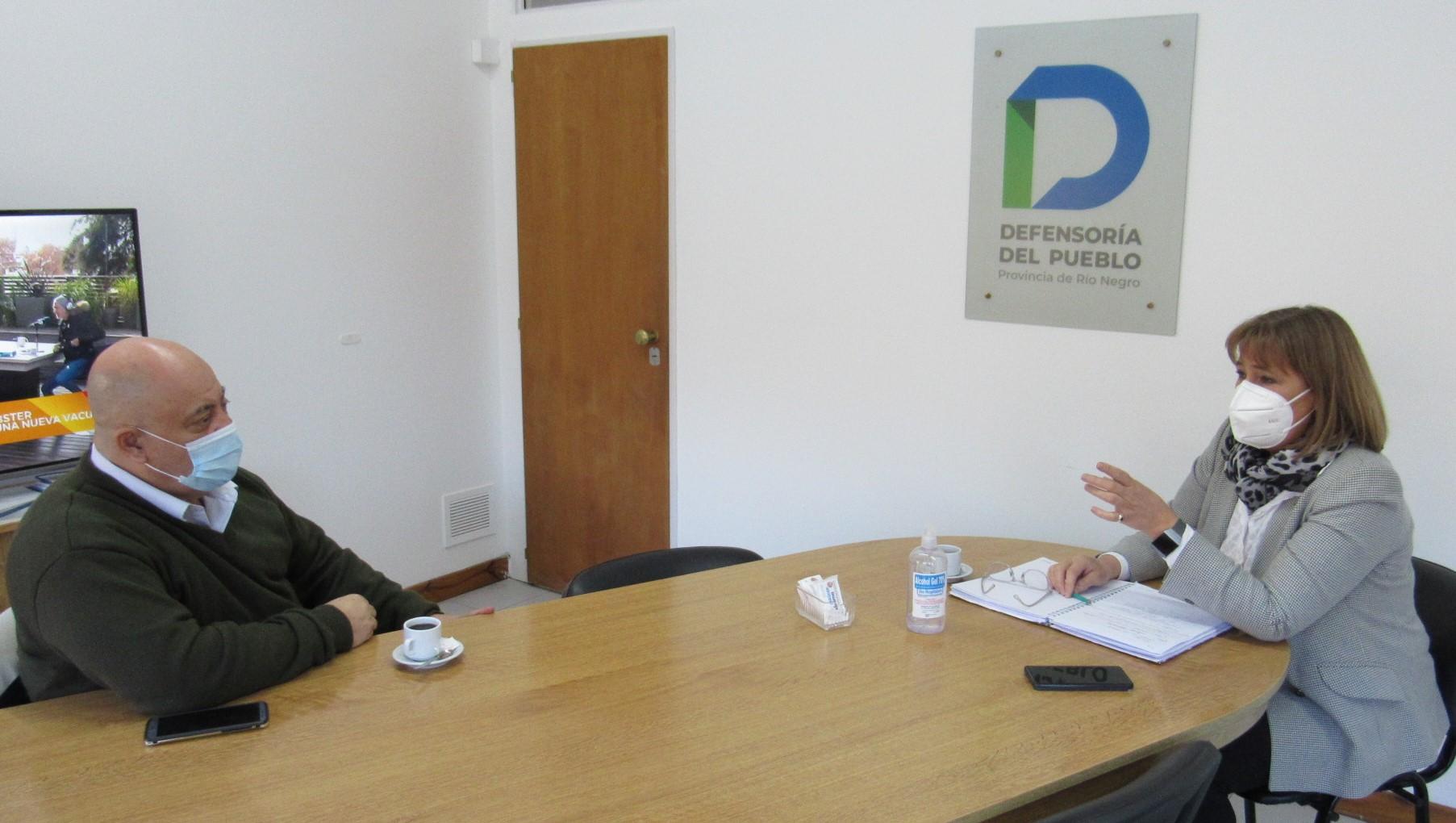 Santagati se reunió con el presidente del Ipross por las irregularidades en los coseguros.