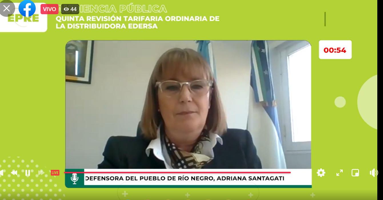 Audiencia Pública: Santagati rechazó la aplicación del aumento solicitado por la empresa EDERSA para el período 2021-2026