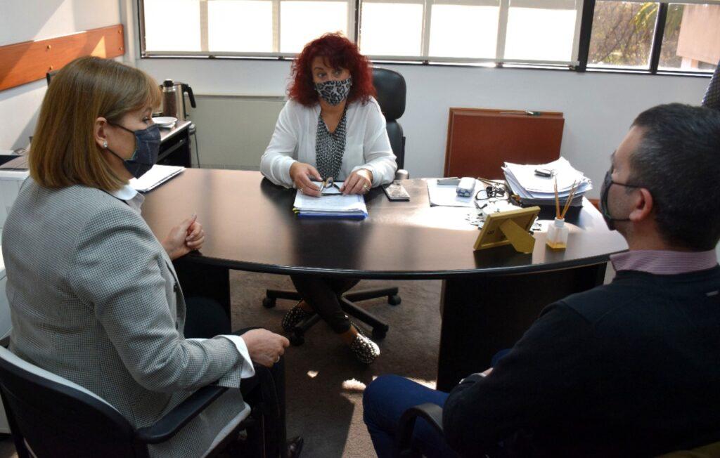 Reunión de la defensora con la jueza del STJ, Dra. Cecilia Criado